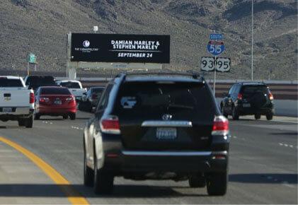 Digital Billboard Advertising   Las Vegas Billboards